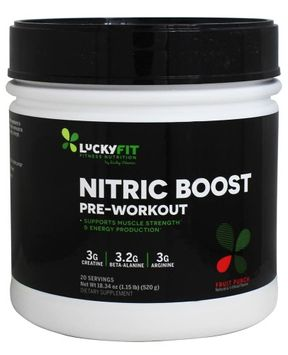 LuckyFit - Nitric Boost Pre-Workout Hawaiian Punch - 18.34 oz.