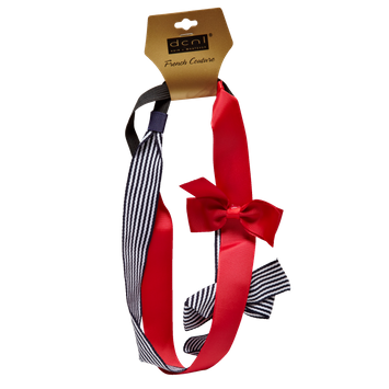 Dcnl Hair Accessories DCNL Grosgrain Ribbon Bow Headwraps