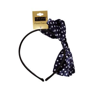 Dcnl Hair Accessories DCNL Polka Dot Bow Headband