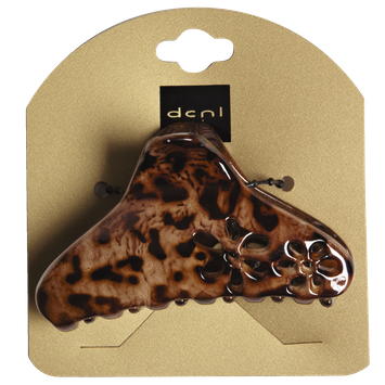 Dcnl Hair Accessories DCNL Animal Print Claw with Flowers