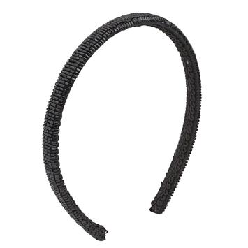 Dcnl Hair Accessories DCNL Black Beaded Headband