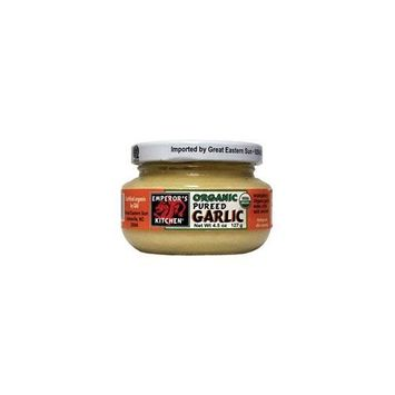 Muir Glen Emperor's Kitchen Organic Pureed Garlic, 4.5-Ounce (Pack of 12)