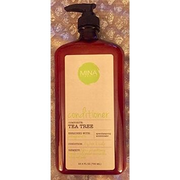 Mina Organics Tea Tree Conditioner, 25.4 fl oz.