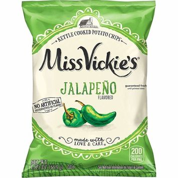 Miss Vickie's Flavored Potato Chips, Jalapeno, 28 Count [Jalapeno]