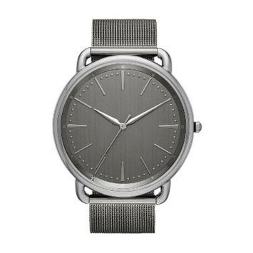 Men's Mesh Strap Watch - Goodfellow & Co™ Gunmetal