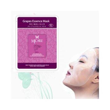 Natural Beauty Grape Essence Full Face Mask 10 Pcs