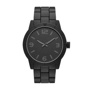 Men's Matte Bracelet Watch - Goodfellow & Co™ Black