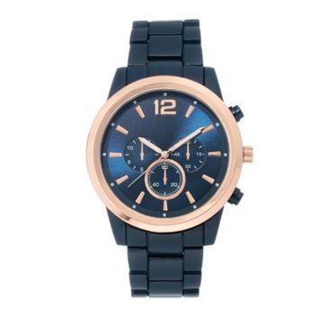 Men's Bracelet Watch - Goodfellow & Co™ Blue