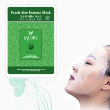 Natural Beauty Fresh Aloe Essence Full Face Mask 10 Pcs