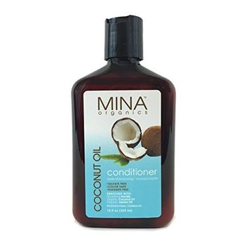Coconut Oil Moisturizing Conditioner 12 ounce (Paraben FREE) by Mina Organics. Factory Fresh!