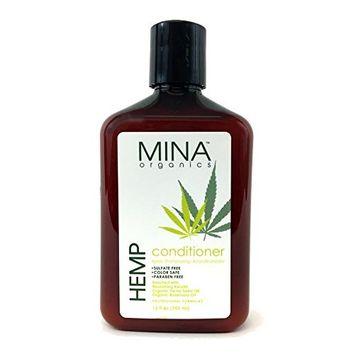 Hemp Moisturizing Conditioner 12 ounce (Paraben FREE) by Mina Organics. Factory Fresh!