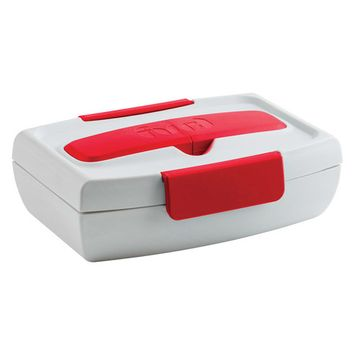Trudeau 03017021 Food To Go Container, 34 Oz