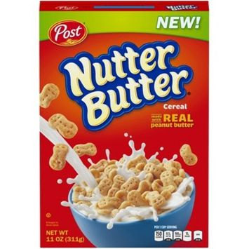Nutter Butter Breakfast Cereal - 11oz - Post
