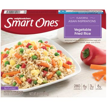 Smart Ones Flavorful Asian Inspirations Vegetable Fried Rice