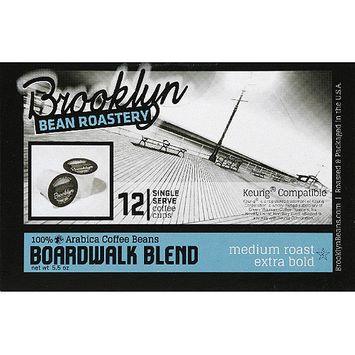 Brooklyn Bean Roastery Boardwalk Blend Coffee K-Cups, 12 count, (Pack of 6)