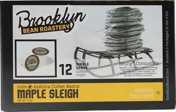 Brooklyn Bean Roastery Maple Sleigh Coffee 12 K-Cups
