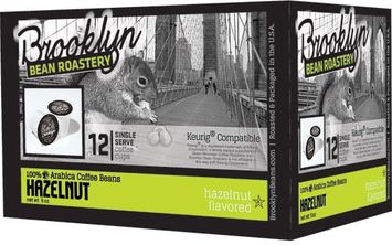 Brooklyn Bean Roastery Flavored Coffee Hazelnut 12 K-Cups