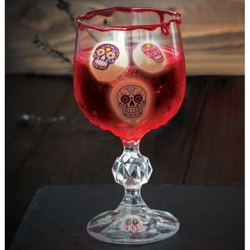 China Giant Industrial Halloween Sugar Skull Ice Cubes