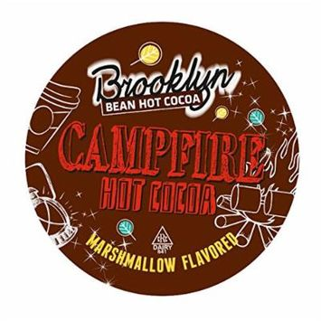 Brooklyn Bean Roastery Campfire Single-Cup Hot Cocoa for Keurig K-Cup Brewers, 40 Count