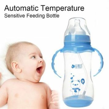 REIZBABY Baby Wide Mouth Bottle Automatic Temperature Sensitive Feeding Bottle