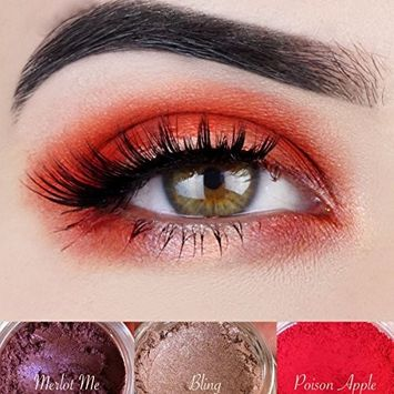 """Red Eyeshadow Palette 