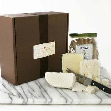 Greek Cheese Assortment in Gift Box