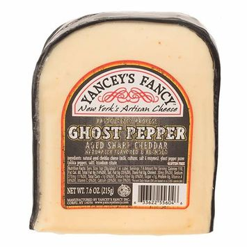 Fun Flavored Cheddars by Yancey's Fancy - Ghost Pepper Cheddar (7.6 ounce)