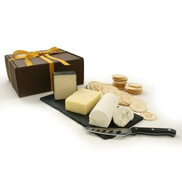 Trio of Canadian Cheeses in Gift Box