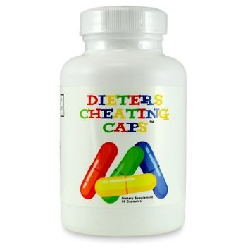 DIETERS CHEATING CAPS - Carb Fat Blocker - Weight Loss Diet Pill