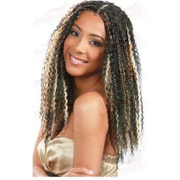 Bobbi Boss Synthetic Hair Braiding Bohemian Curl Braid #1