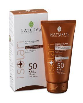 Natures NATURE'S - Sun Cream Face & Body SPF 50 150ml