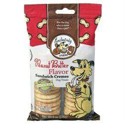 Exclusively Pet Sandwich Crme Dog Treats Peanut Butter 8 Ounces - 03500