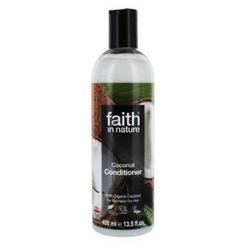 Conditioner with Organic Coconut - 13.5 fl. oz. by Faith in Nature (pack of 1)