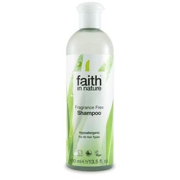 Faith In Nature Fragrance Free Shampoo 400ml (2 Pack)