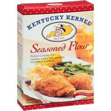 Kentucky Kernal Kentucky Kernel Seasoned Flour, 10 oz, (Pack of 12)