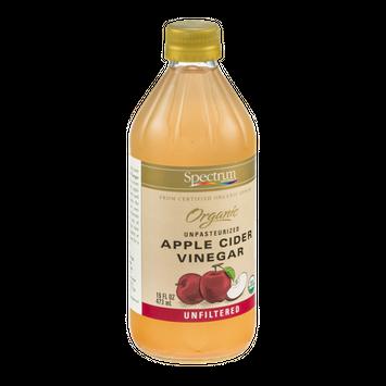 Spectrum Naturals Organic Apple Cider Vinegar Unpasteurized
