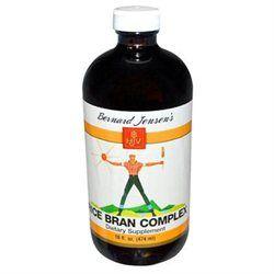 Bernard Jensen Products Rice Bran Complex - 16 Fluid Ounces Liquid - Other Supplements