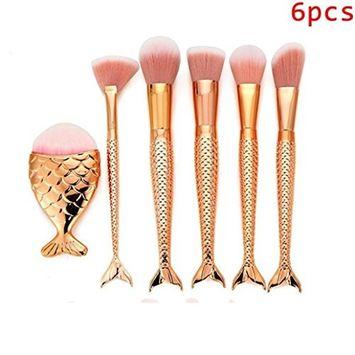 Makeup Brushes, Iuhan 6Pcs/10Pcs/11Pcs/15Pcs/16Pcs Make Up Foundation Eyebrow Eyeliner Blush Cosmetic Concealer Brushes