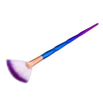 Iuhan New 1Pc Fan Brush Diamond Portable Slim Professional Makeup Brush