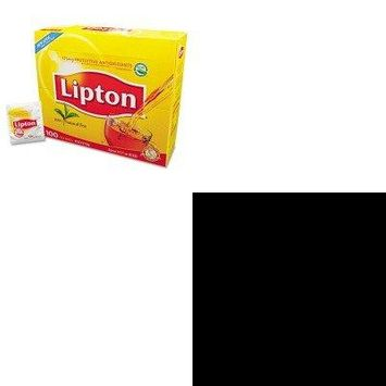 KITLIP291OFX00082 - Value Kit - Office Snax Pretzel Assortment Old Fashioned Mini-Pretzel Twists (OFX00082) and Lipton Tea Bags (LIP291)