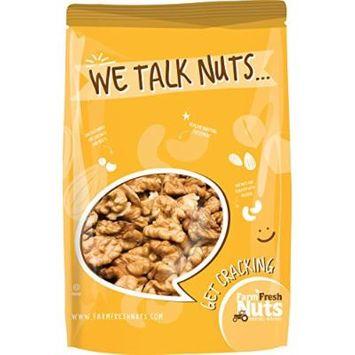 CALIFORNIA WALNUTS Halves & Pieces - Great Source of Omega 3 - Super Crunchy - (2 LB) - Farm Fresh Nuts Brand.