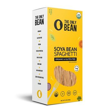 The Only Bean - Organic Soy Bean Spaghetti Pasta, Gluten Free Noodles (8oz)