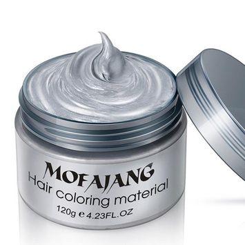 Fabal DIY Hair Clay Wax Mud Dye Cream Grandma Hair Ash Dye Temporary 7 Colors