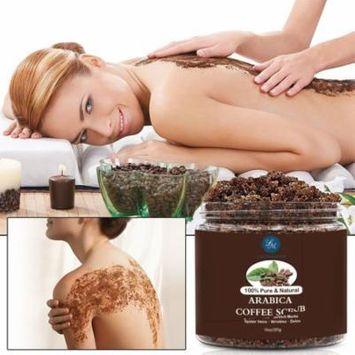100% Pure & Natural Arabica Coffee Scrub, Body Scrub and Facial Scrub for Deep Cleansing, Exfoliation, Pore Minimizer 10oz