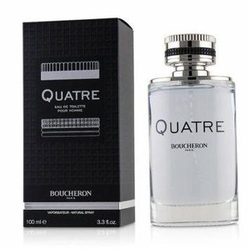 Boucheron Quatre Eau De Toilette Spray 100ml/3.4oz Men's Fragrance