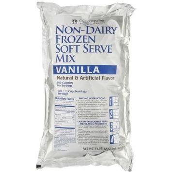 Chefs Companion Vanilla Non Dairy Special Soft Serve Mix, 6 Pound -- 6 per case.