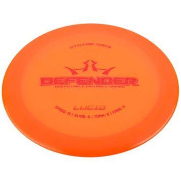 Dynamic Discs Defender Lucid Golf Disc Distance Driver: Assorted Colors