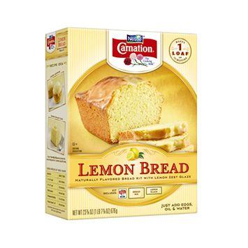 Carnation Lemon Bread Kit With Lemon Zest Glaze