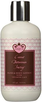 Jaqua Coconut Buttercream Frosting Hand & Body Lotion