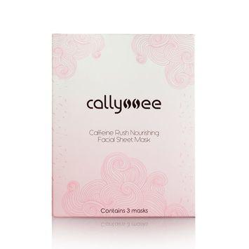 callyssee Caffeine Rush Nourishing Facial Sheet Mask